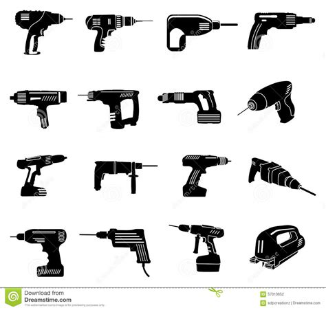 what do the symbols on cordless power tool batteries and chargers mean power tools icons set stock vector illustration of tool