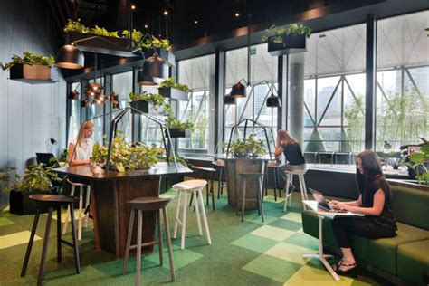 Creative Desk Ideas co working village at nab docklands indesignlive daily