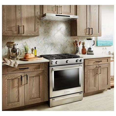 low profile under cabinet range hood kvub406gsskitchenaid 36 quot low profile under cabinet
