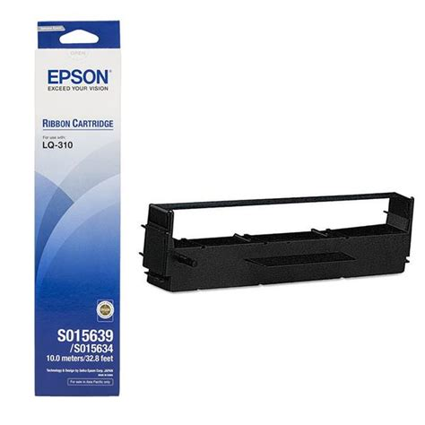 Murah Ribbon Cartridge Katrid Tinta Lq 310 C13s015639 Original epson ribbon lq 300 daftar update harga terbaru dan terlengkap indonesia