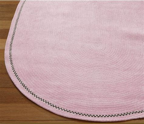 5x7 braided rugs pottery barn toile chenille braided rug pink 5x7 oval retail 449 bought at