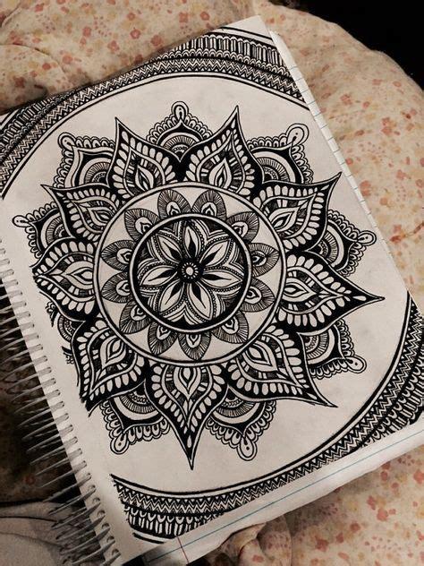 mandala tattoo etsy mandala ink drawing by artbyalyssia on etsy doodles