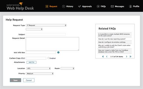 help desk knowledge base articles help desk knowledge base knowledge management solarwinds