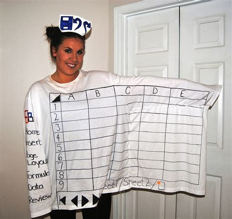 dress pattern exle my halloween diy costume microsoft excel office friendly