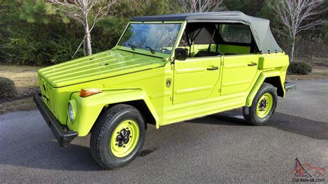 1974 volkswagen thing type 1974 vw thing trekker type 181 body off restoration