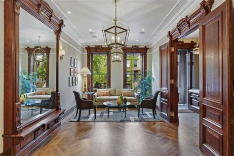glory home design brooklyn ny 19th century bed stuy townhouse along doctors row is
