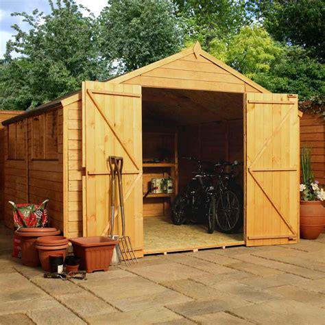 shedswarehouse oxford workshops 10ft x 10ft saver overlap apex workshop with