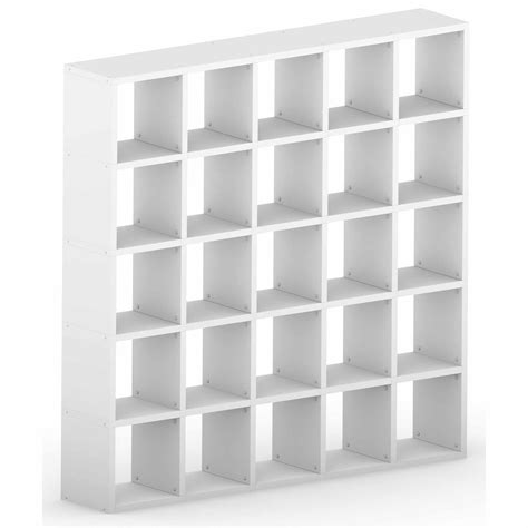 How To Build Bookcase Modular 25 Cube White 1808l X 1828h X 328d Mastershelf