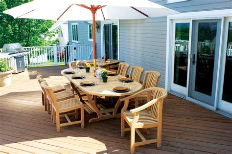 Outside Deck Furniture 23 Teak Patio Furniture
