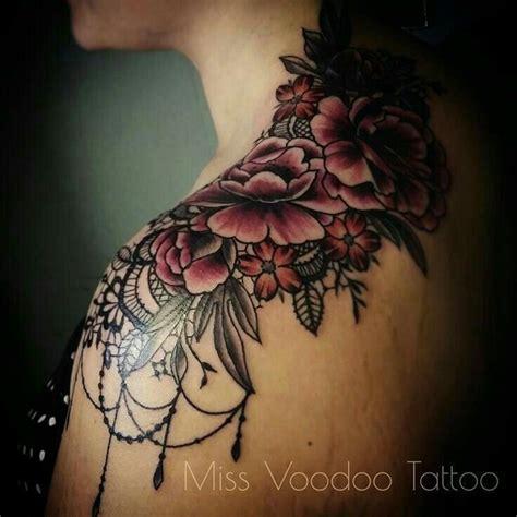 printer voor tattoo 25 beste idee 235 n over schouder bloemen tatoeage alleen op