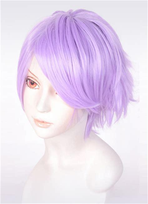 Light Purple Wig by Light Purple 20cm Wig Udc3529