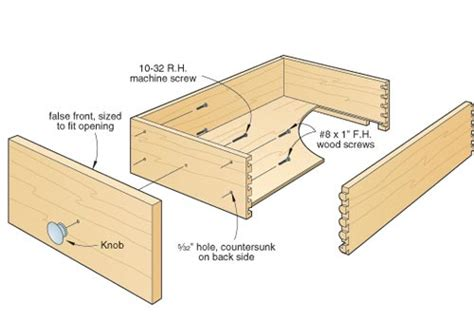 diy woodworking plans drawer fronts diy simple