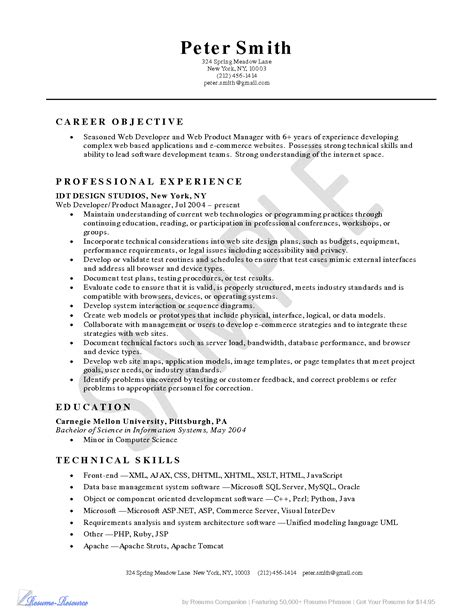 resume skills for server resumes design