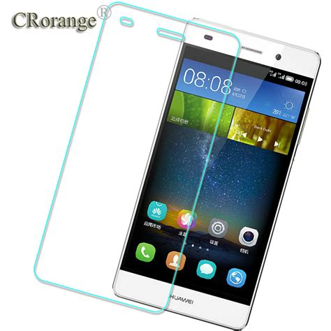 Tempered Glass Km Huawei P9 Lite crorange tempered glass explosion proof screen protector for huawei p8 lite p9 lite