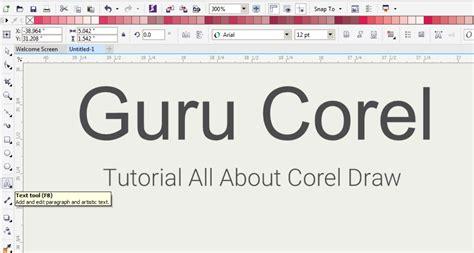 membuat brosur dengan coreldraw x5 cara membuat brosur sederhana dengan coreldraw x3 x4 x5 x6