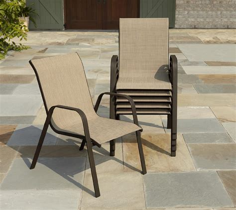 Sling Patio Chairs Stackable Stacking Sling Chairs Patio Chairs Seating