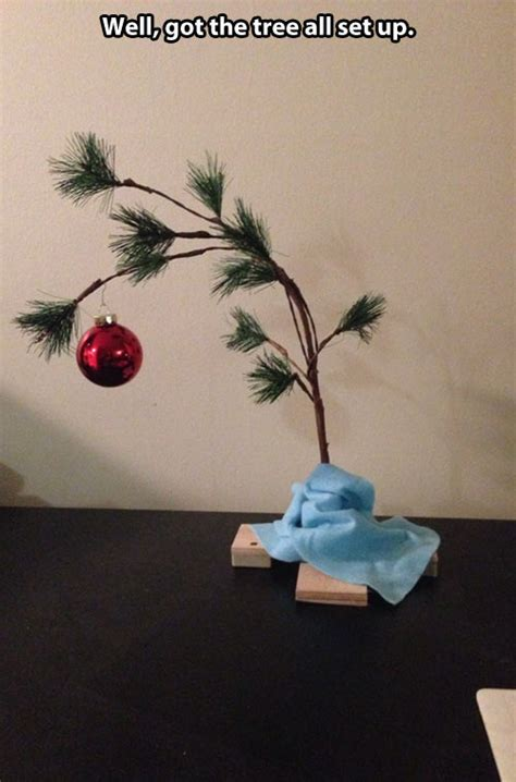 Christmas Tree Meme - charlie brown christmas tree childhood enhanced know