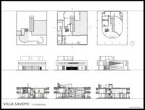gallery for gt villa savoye plan