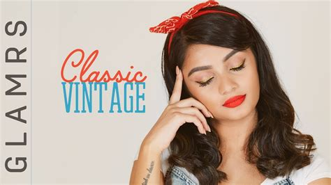 eyeliner tutorial glamrs the pin up girl makeup look classic vintage 1980 s
