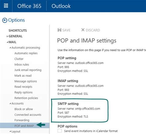 Office 365 Smtp Smtp Relay In Office 365 Environment Part 3 4 O365info
