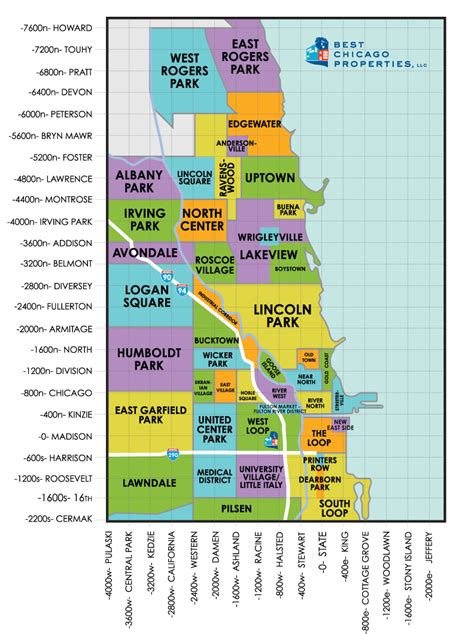 chicago map with neighborhoods chicago neighborhood guide chicago neighborhoods on a