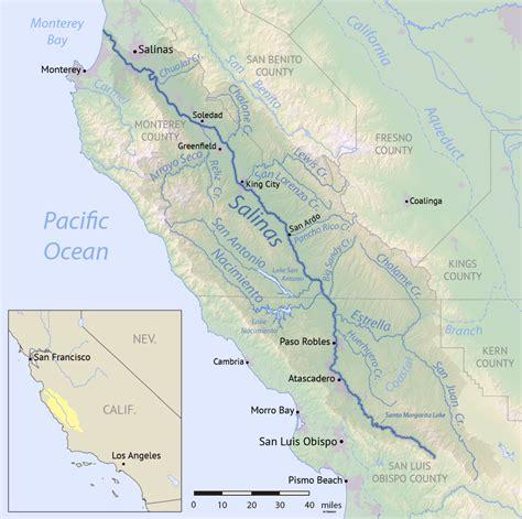 della ca arroyo seco salinas river tributary
