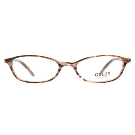 light brown eyeglass frames guess gu1464 light brown prescription eyeglasses by guess