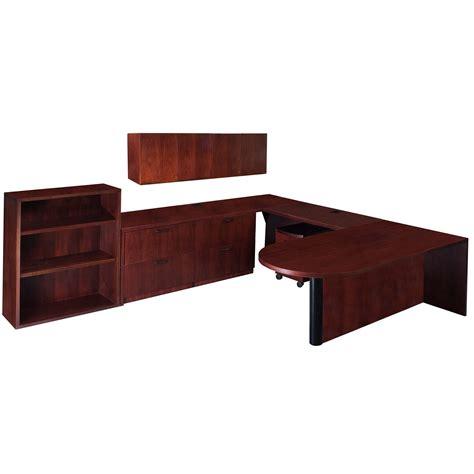steelcase u shaped desk steelcase garland used left veneer u shape desk