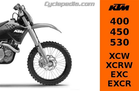 Ktm Part Number Search Ktm 400 450 530 Xcw Xcrw Exc And Excr Repair Manual