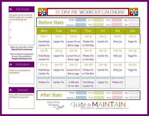 21 day fix meal plan template 18 natural buff dog