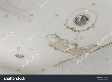 leaking ceiling stock images royalty free images water leaking ceiling make damaged l stock photo