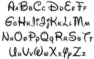 printable mickey mouse fonts mickey mouse font exle aid for handwriting text
