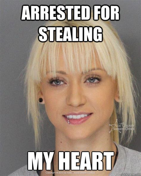Beautiful Girl Meme - beautiful mugshot girl memes quickmeme