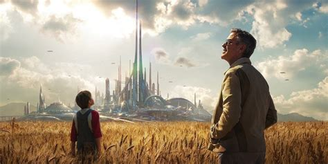 film disney tomorrowland heavy on message tomorrowland is destined to be