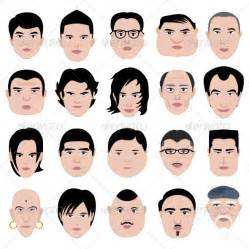 hair for diffrent head man face head shape hairstyle round fat thin old