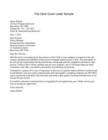 Clerical Worker Cover Letter by Clerical Cover Letter Exles The Best Letter Sle