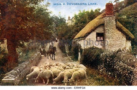 Devonshire Country Cottages by Devonshire Country Stock Photos Devonshire Country Stock
