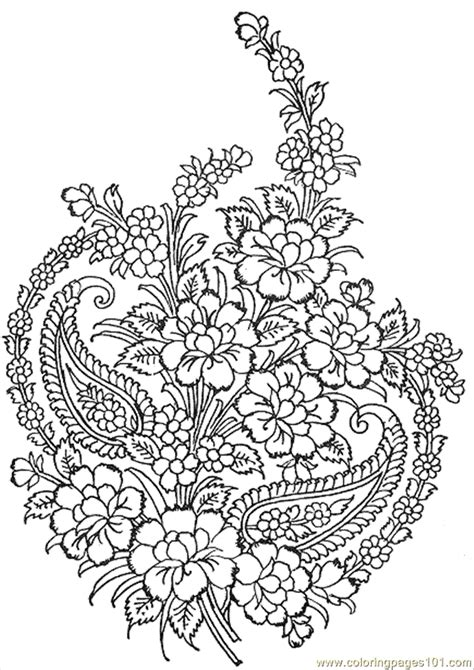 intricate floral coloring pages intricate design coloring pages coloring home