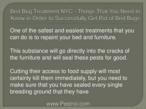 bed bug treatment nyc things that you need to know in