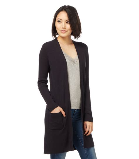 Sweater Wanita Black Casual For F118 woolovers womens silk and cotton rib warm casual