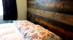 rustic wood headboard for any bed king queen full twin