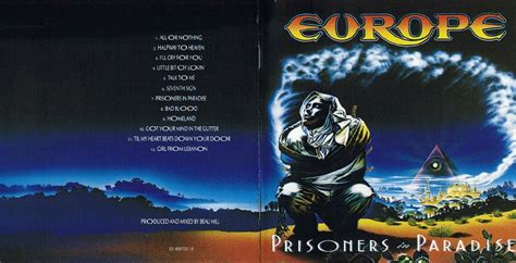 Cassette Europe Prisoners In Paradise norum europe discography single live s