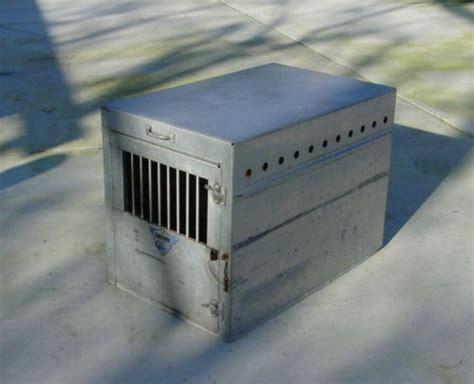 aluminum crate used bob mckee aluminum crate box xl