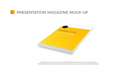 powerpoint presentation magazine mock up templates