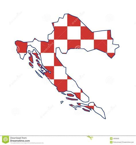 croatia map vector vector map croatia stock vector image of europe vector