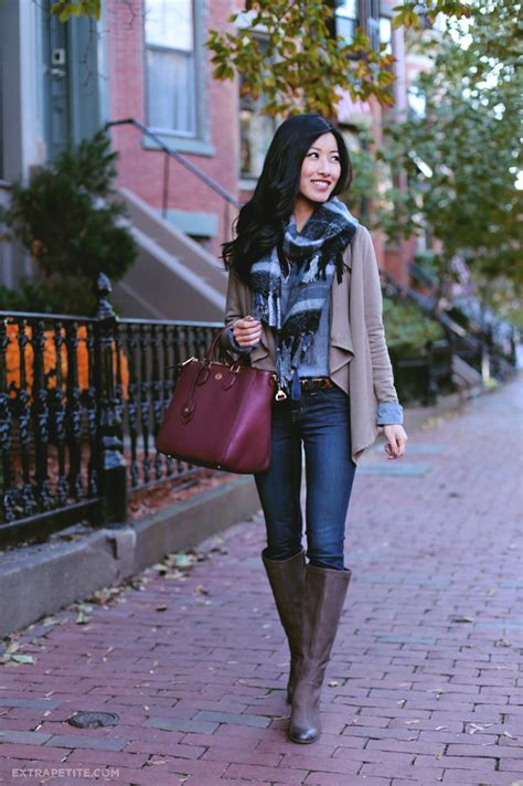 fall neutrals tall boots  short legs extra petite
