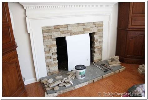 Fireplace Makeover Cost by Diy Fireplace Makeover On A Budget Using Airstone
