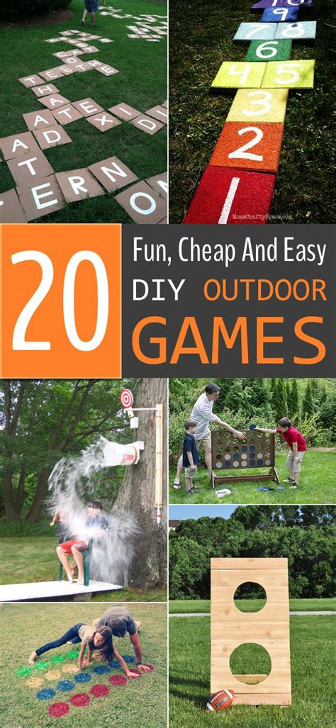 diy christmas party games for groups 20 cheap and easy diy outdoor for the whole family outdoor diy and gaming
