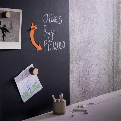 magnetic blackboard wallpaper by sisters guild