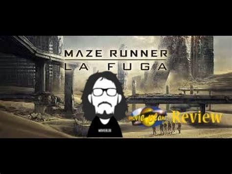 maze runner youtube film completo movie planet review 102 maze runner la fuga youtube